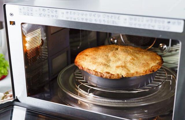 pot pie in microwave